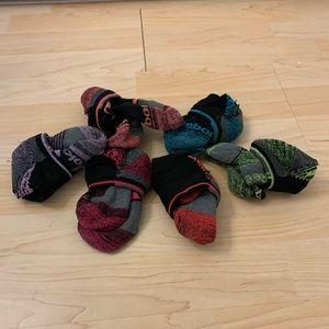 Bundle of adidas athletic socks